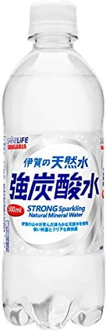 SHINE LIFE 伊賀の天然水強炭酸水 500ml×24本[Amazon限定ブランド]