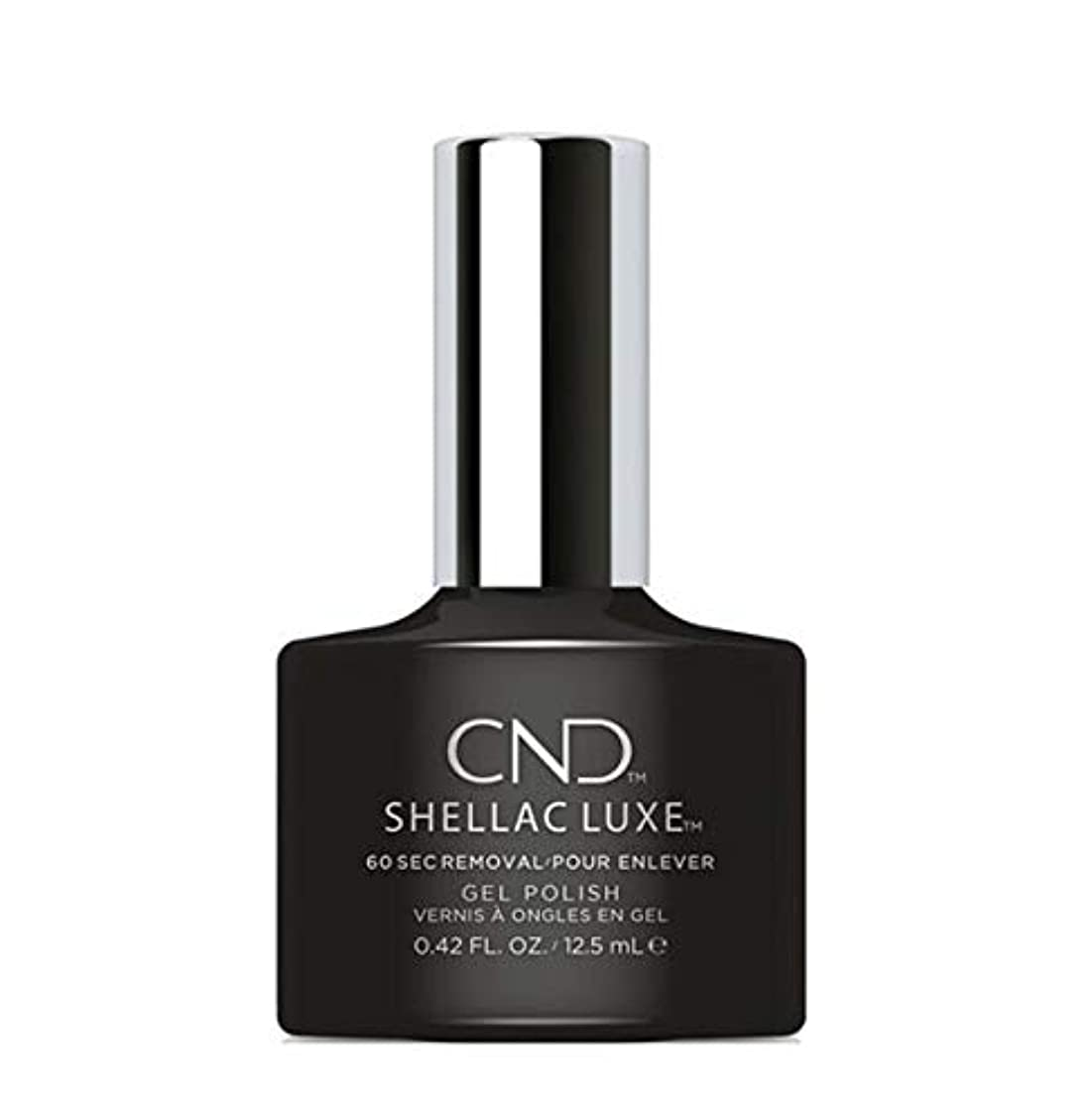 抵抗淡い原理CND Shellac Luxe - Black Pool - 12.5 ml / 0.42 oz