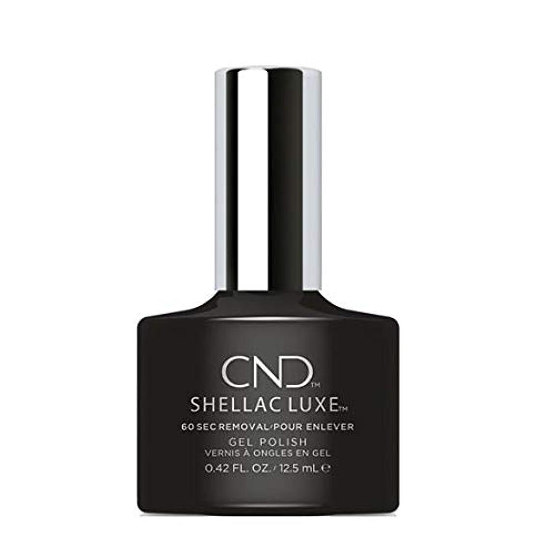 ロボット便利創造CND Shellac Luxe - Black Pool - 12.5 ml / 0.42 oz