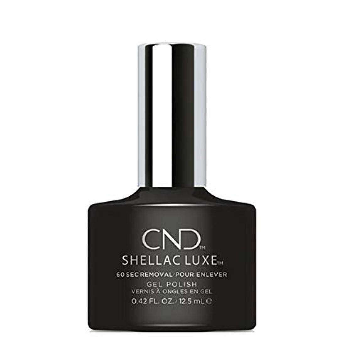 とげのあるさまようルアーCND Shellac Luxe - Black Pool - 12.5 ml / 0.42 oz