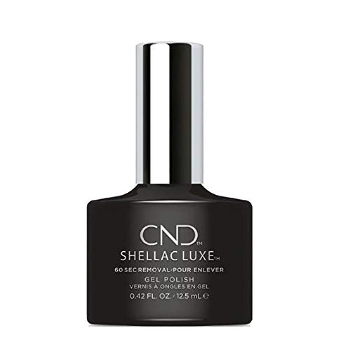 ベスト騒ぎベストCND Shellac Luxe - Black Pool - 12.5 ml / 0.42 oz