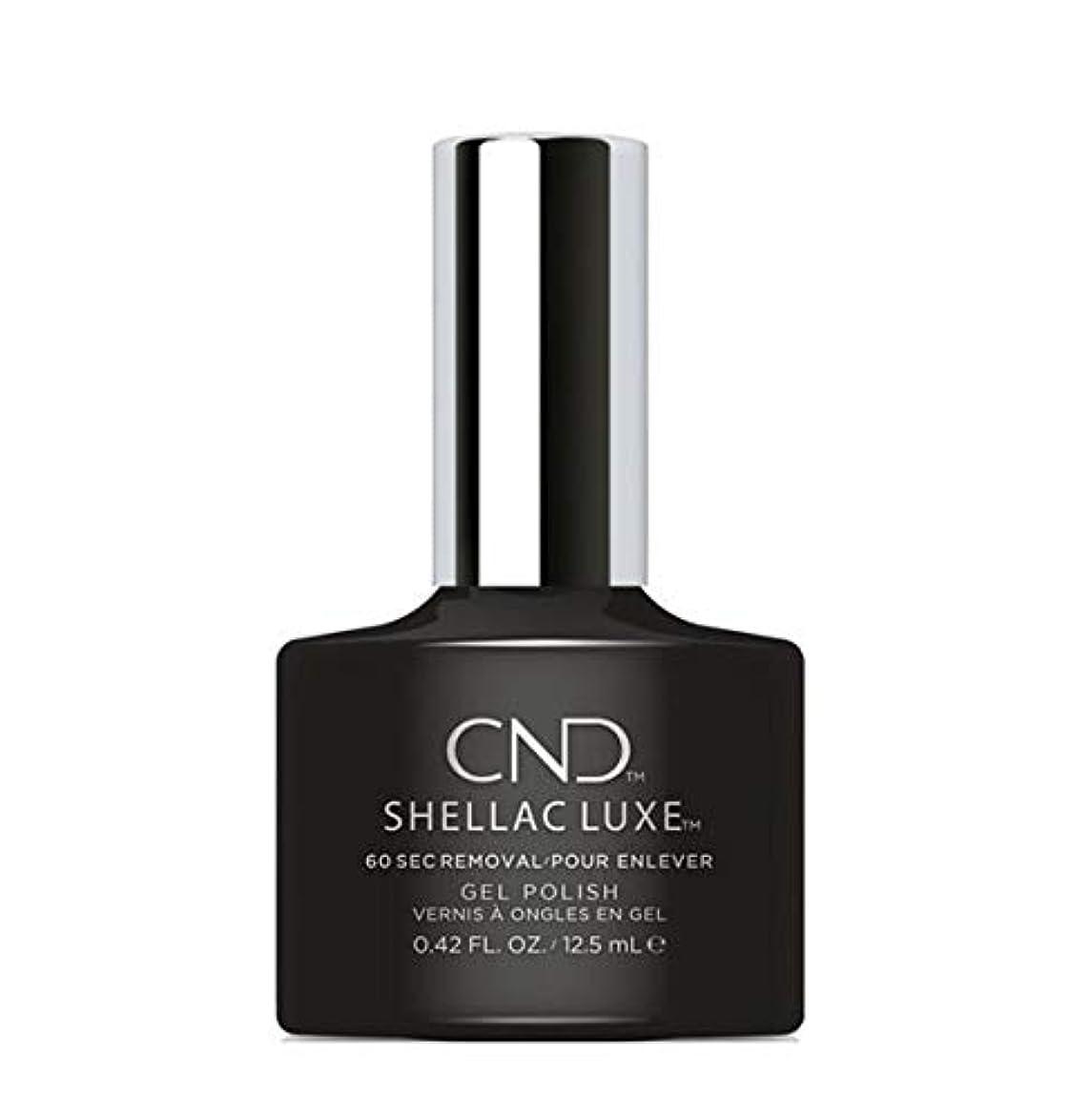 青鉛筆折るCND Shellac Luxe - Black Pool - 12.5 ml / 0.42 oz