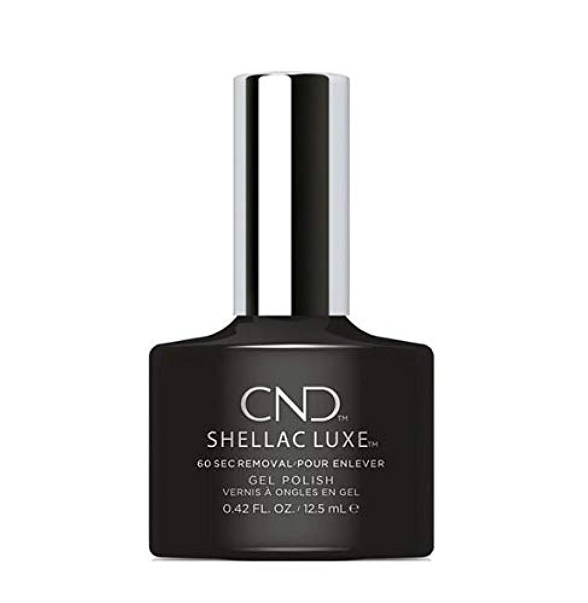 経度ねばねばブラストCND Shellac Luxe - Black Pool - 12.5 ml / 0.42 oz