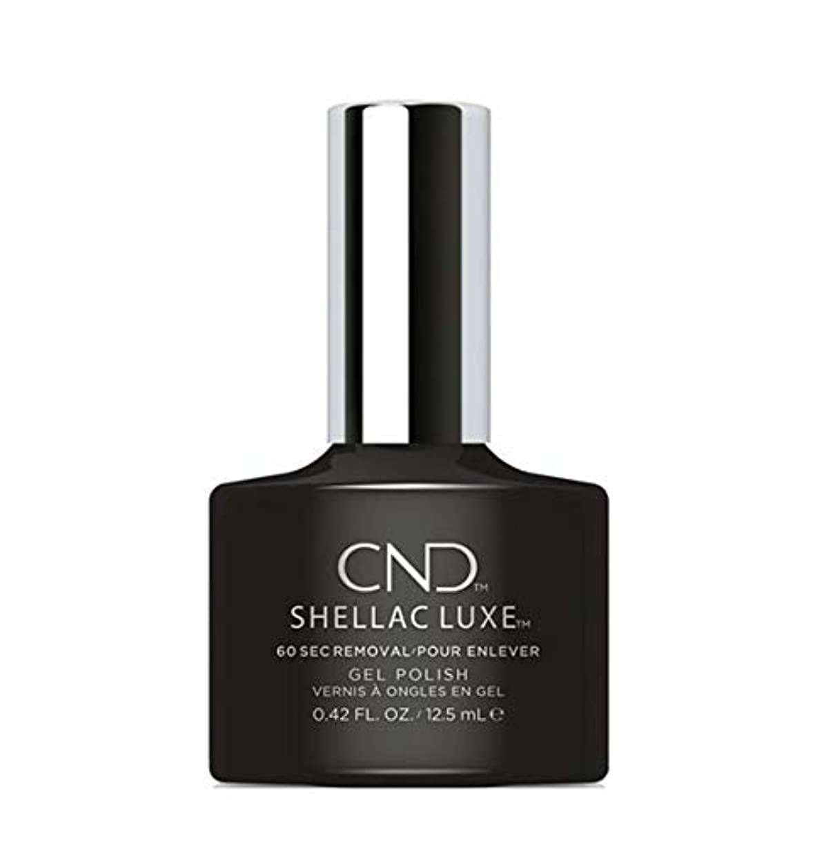 糸銀行前文CND Shellac Luxe - Black Pool - 12.5 ml / 0.42 oz