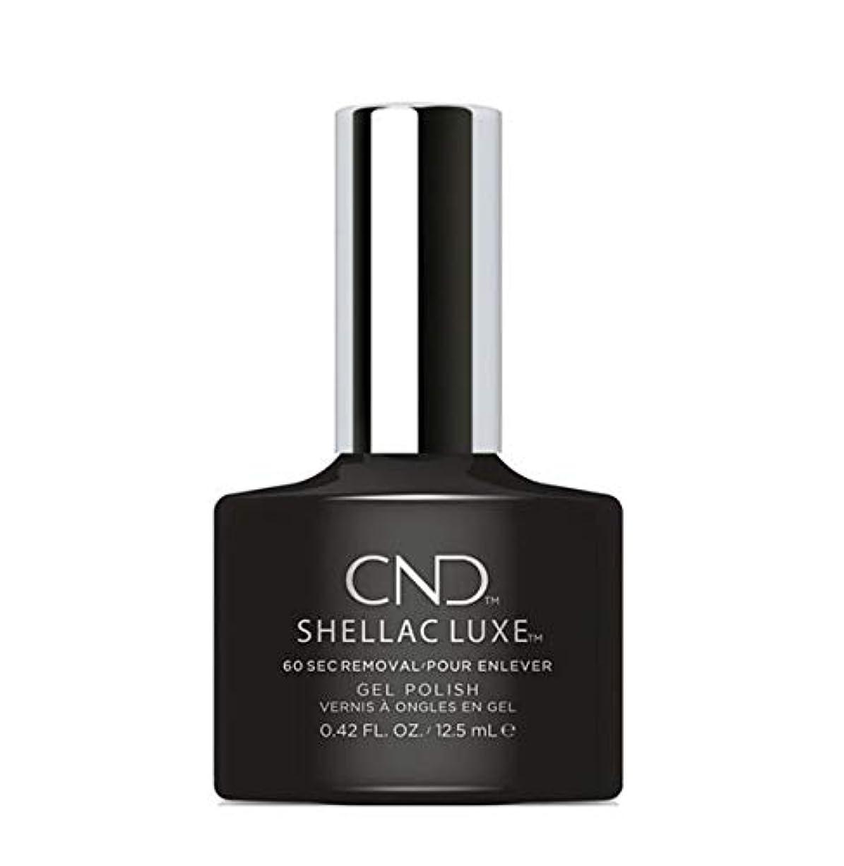 愛情深い病シソーラスCND Shellac Luxe - Black Pool - 12.5 ml / 0.42 oz