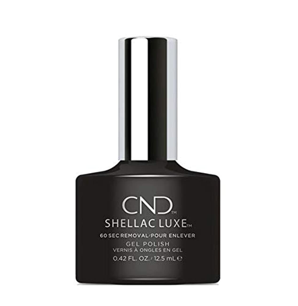 列車輪郭脅威CND Shellac Luxe - Black Pool - 12.5 ml / 0.42 oz