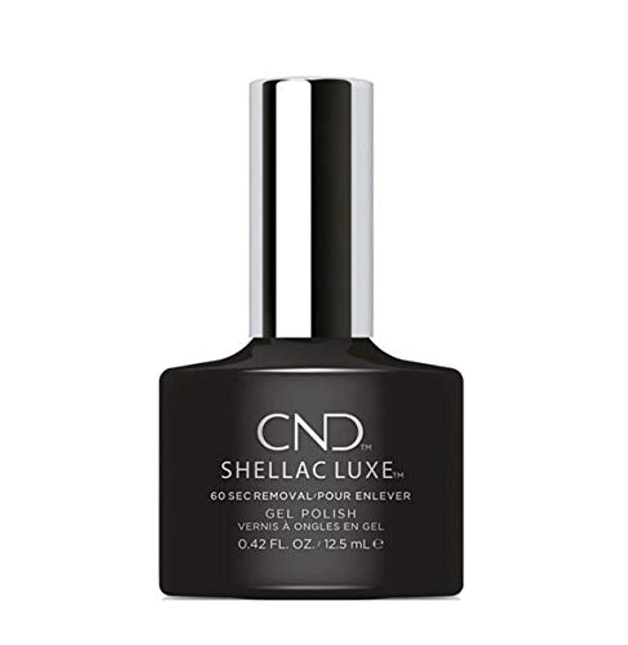 アノイ夫貧しいCND Shellac Luxe - Black Pool - 12.5 ml / 0.42 oz