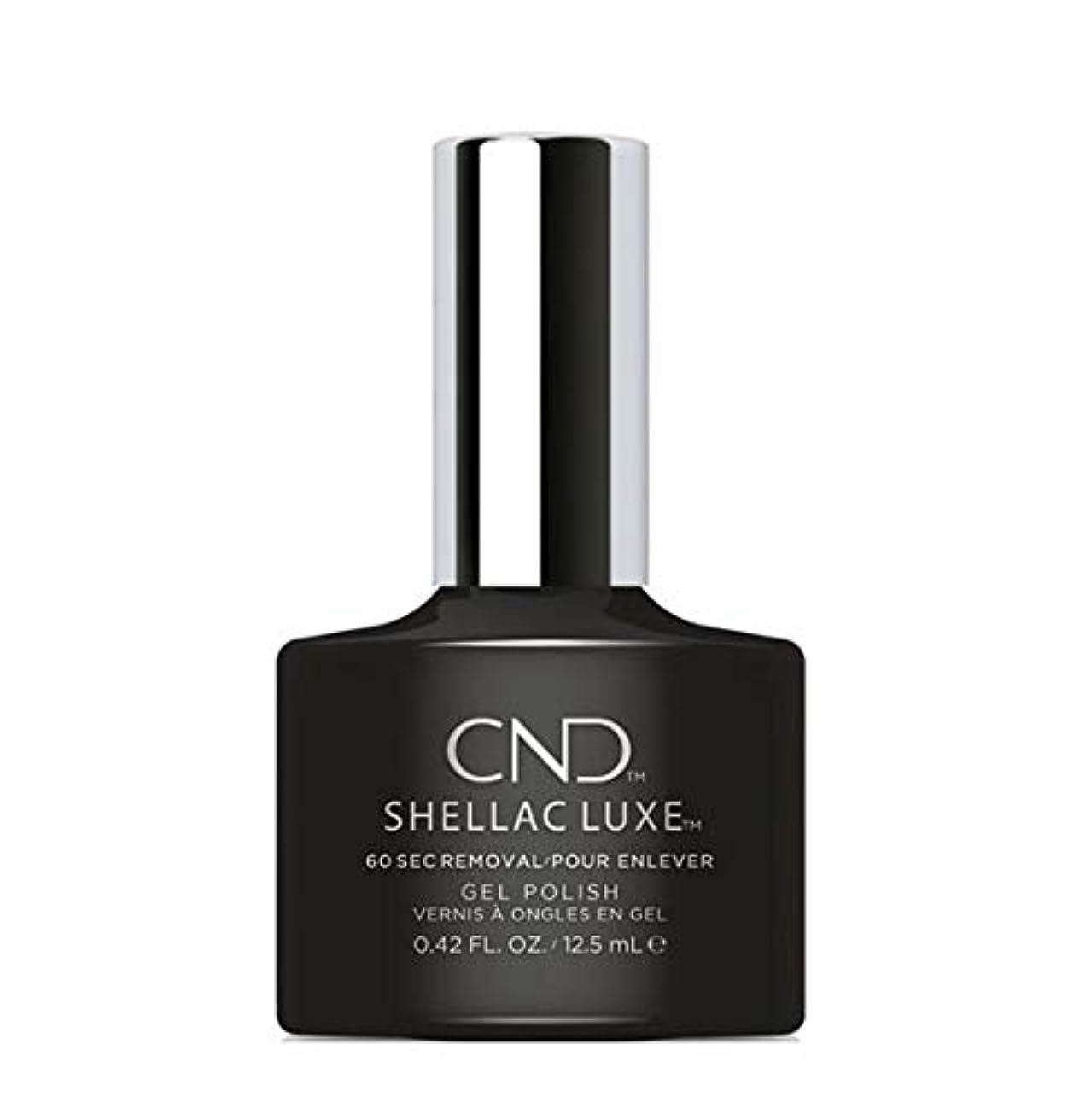 火炎バリア日常的にCND Shellac Luxe - Black Pool - 12.5 ml / 0.42 oz