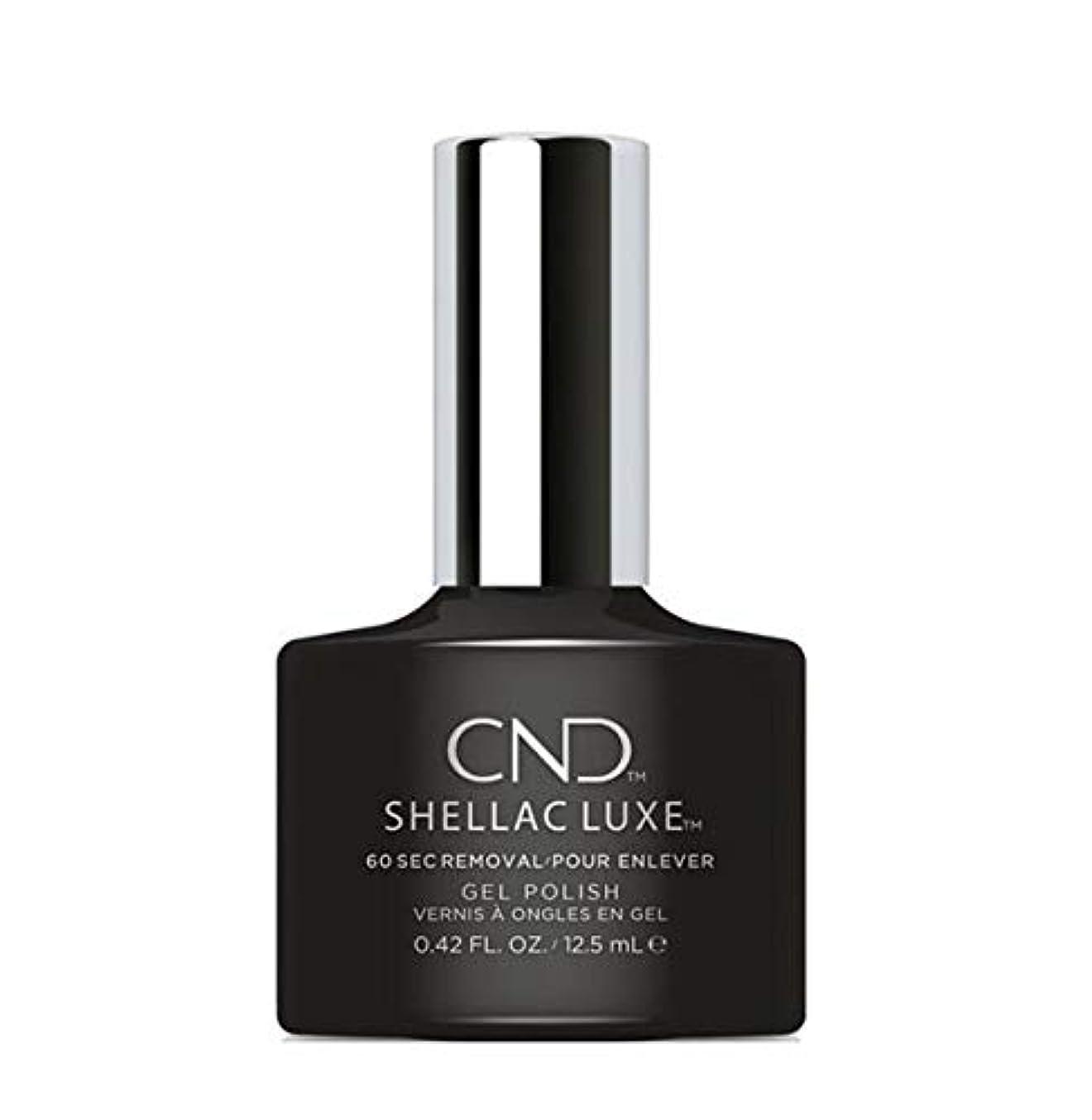 ベンチ命題人口CND Shellac Luxe - Black Pool - 12.5 ml / 0.42 oz