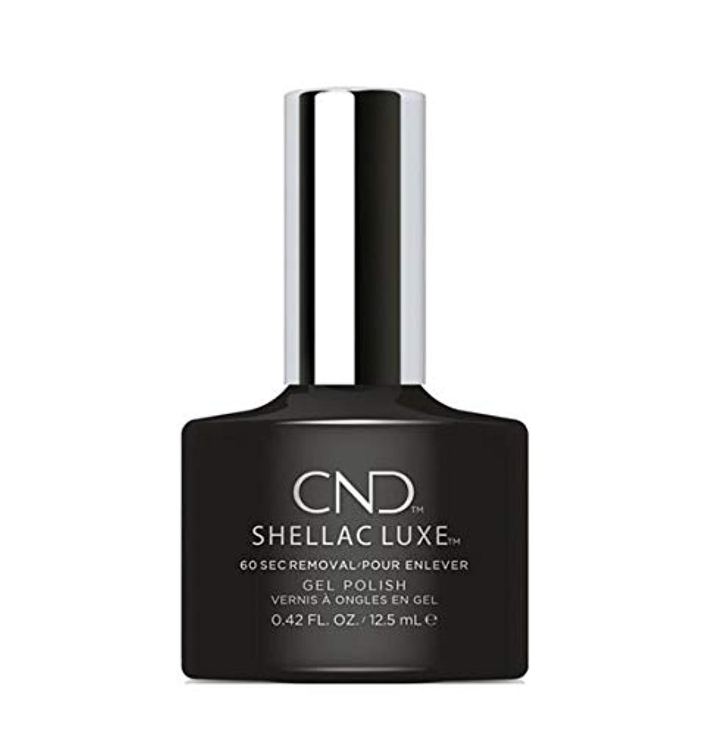 北米入力ライフルCND Shellac Luxe - Black Pool - 12.5 ml / 0.42 oz