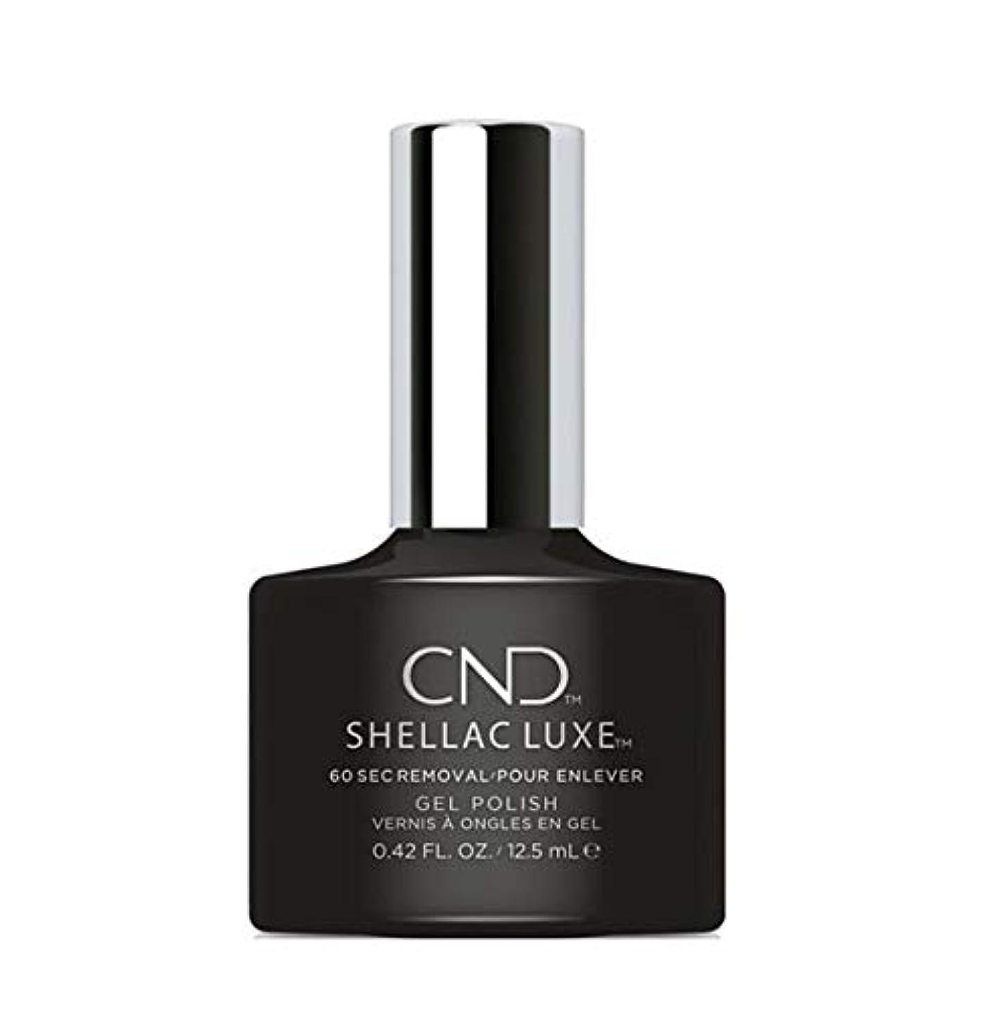 ホイットニーやむを得ないトーンCND Shellac Luxe - Black Pool - 12.5 ml / 0.42 oz
