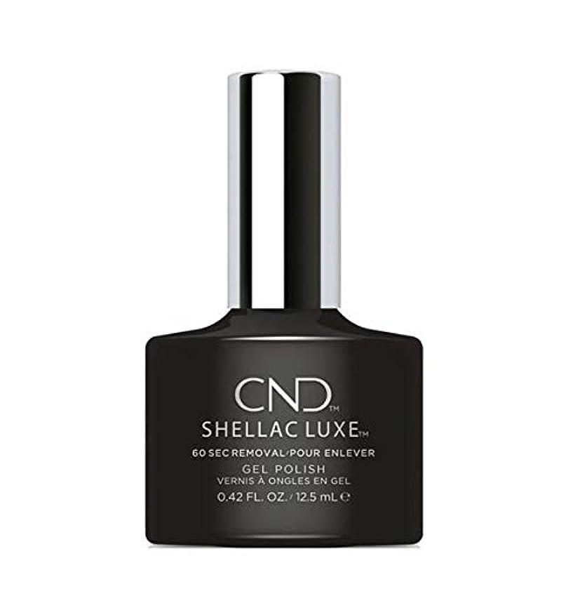 硬い解くむき出しCND Shellac Luxe - Black Pool - 12.5 ml / 0.42 oz