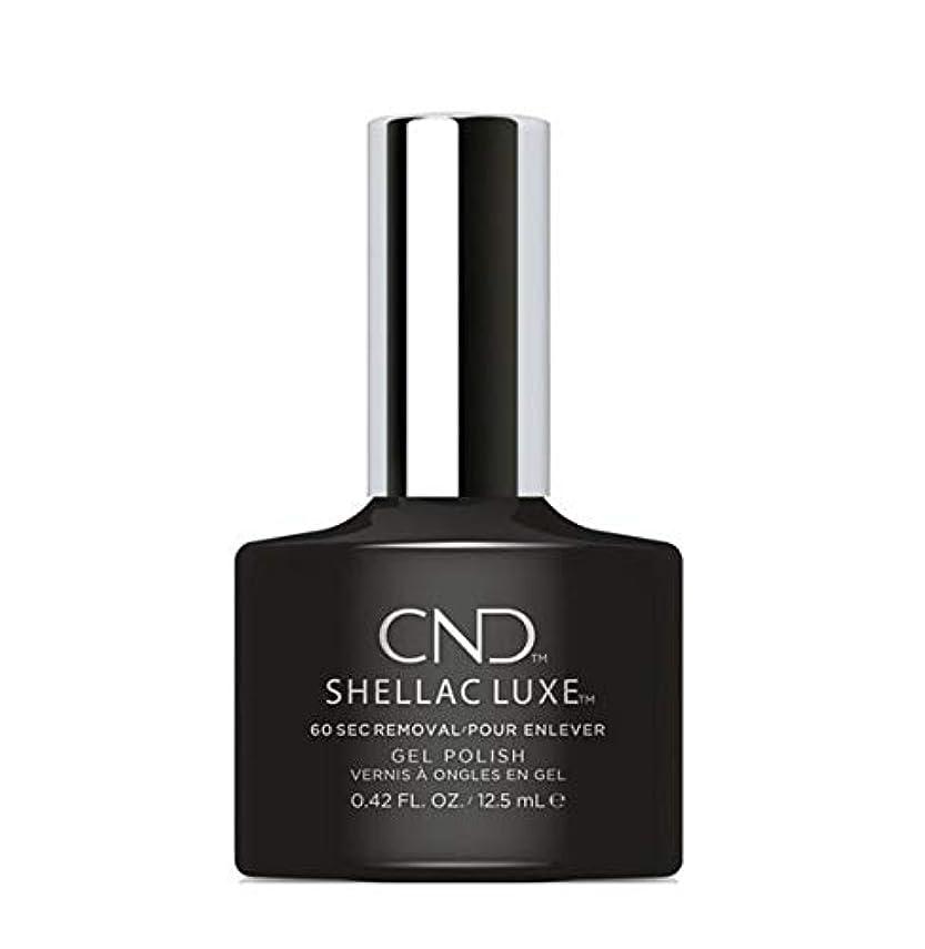 センサー高度テロCND Shellac Luxe - Black Pool - 12.5 ml / 0.42 oz