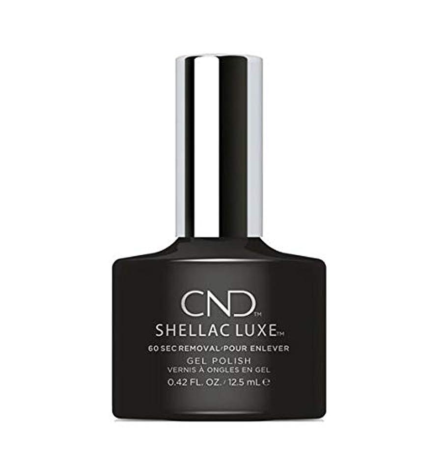 パキスタン人計算待ってCND Shellac Luxe - Black Pool - 12.5 ml / 0.42 oz
