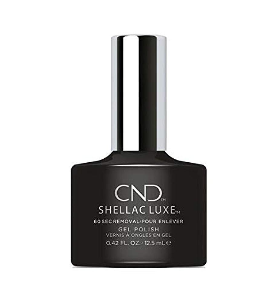 ステレオ大いに閉じるCND Shellac Luxe - Black Pool - 12.5 ml / 0.42 oz