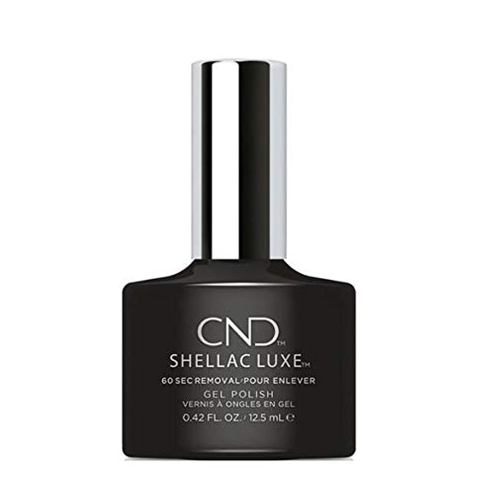 数学者十一実験をするCND Shellac Luxe - Black Pool - 12.5 ml / 0.42 oz