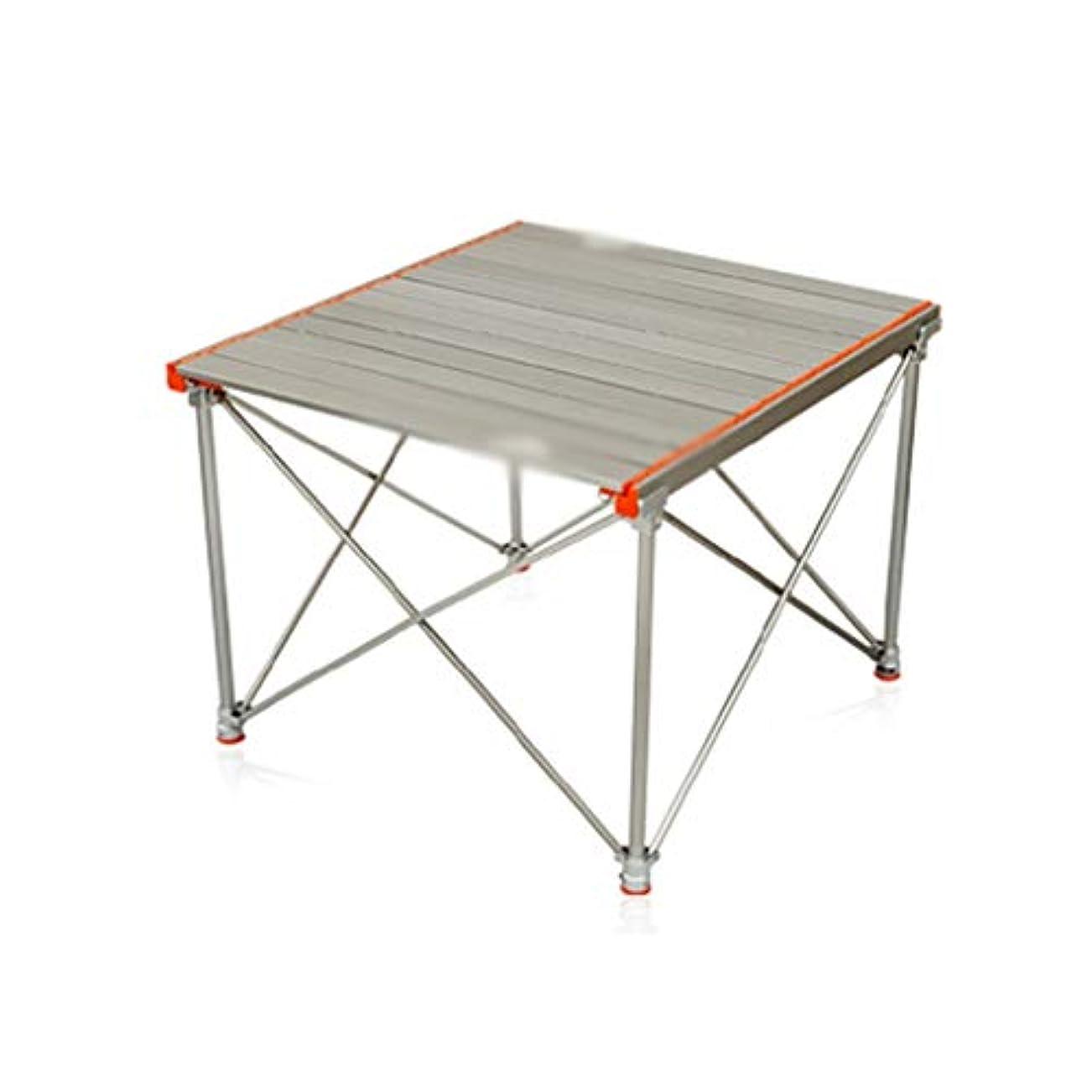 女の子木製中で折りたたみ式テーブル アウトドア 折りたたみ式テーブルアルミ合金スーパーライトピクニックテーブル折りたたみ式テーブルと椅子キャンプテーブルバーベキューテーブル 折りたたみ式テーブル