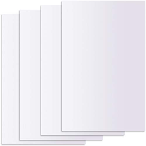 Juvale Adhesive Mirror Sheet Tiles for Wall Decor (10 Count), 2 Sizes
