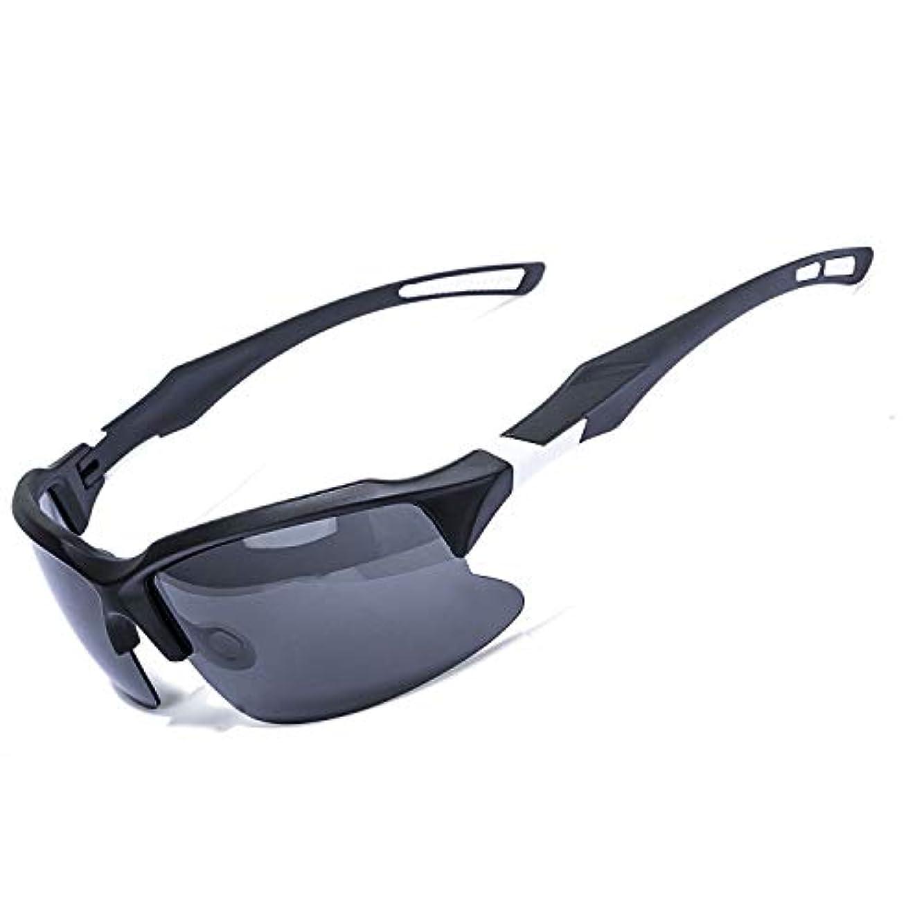 教える耳スロベニアZEAKER 偏光スポーツサングラス 男女兼用 運転 釣り サイクリング ランニングに最適 UV保護