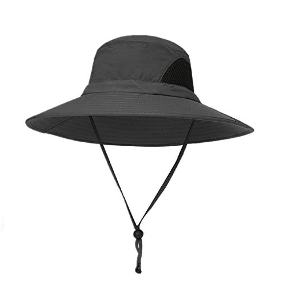 バーストカード商標ROSE ROMAN - 日よけ帽子 uvカット ビッグバイザー 紫外線防止 あごひも付き 強風でも安心 折りたたみ 軽量 持ち運びに便利 取り外すあご紐 つば広 りたたみ サイズ調節可 旅行 自転車 アウトドア 男女兼用