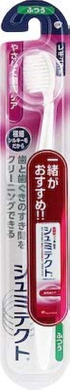 マイルストーン注入予測【まとめ買い】シュミテクトやさしく歯周ケアハブラシレギュラー1本 ×6個