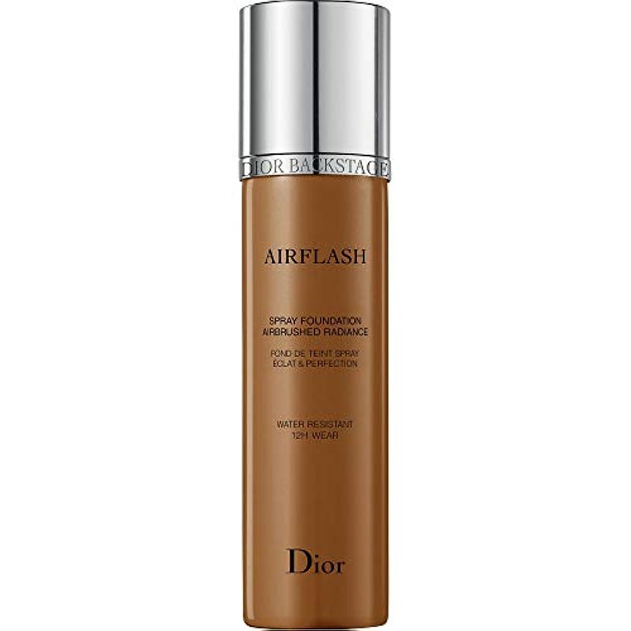 叫び声恐ろしいマトン[Dior ] ディオールディオールスキンAirflashスプレー基礎70ミリリットル600 - モカ - DIOR Diorskin Airflash Spray Foundation 70ml 600 - Mocha...