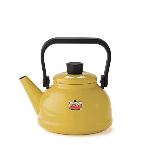 RoomClip商品情報 - [ハニーウェア] Honey Ware Solid IH可 1.6Lケトル マスタード 富士ホーロー
