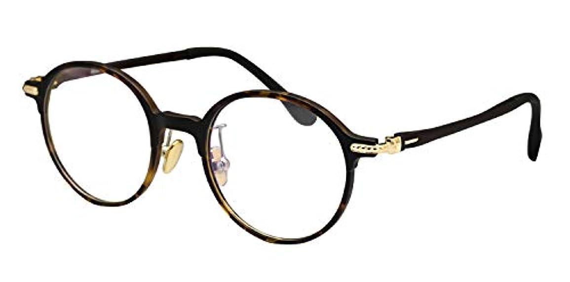 交響曲遺伝子爬虫類鯖江ワークス(SABAE WORKS) 遠近両用メガネ 老眼鏡 ボストン 軽量 RN2623C5 +2.00