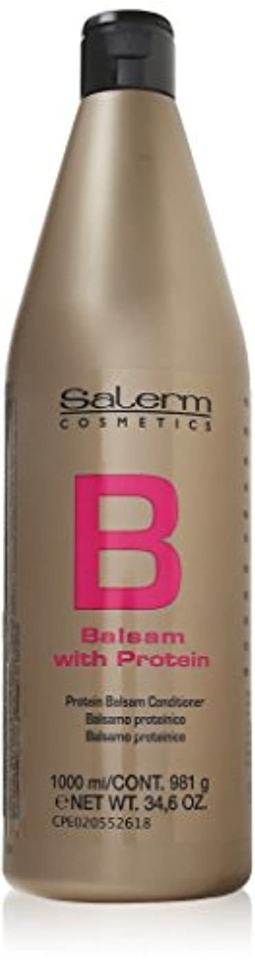 絡まる扇動を通してBALSAM WITH PROTEIN conditioner 1000 ml