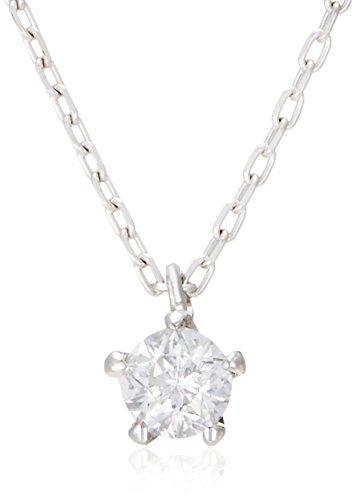 [フェスタリア ビジュソフィア] festaria bijou SOPHIA 【夢を叶える、星のダイヤモンド】K18ホワイトゴールド Wish upon a starダイヤモンド ネックレス 14831-12038249-0.08