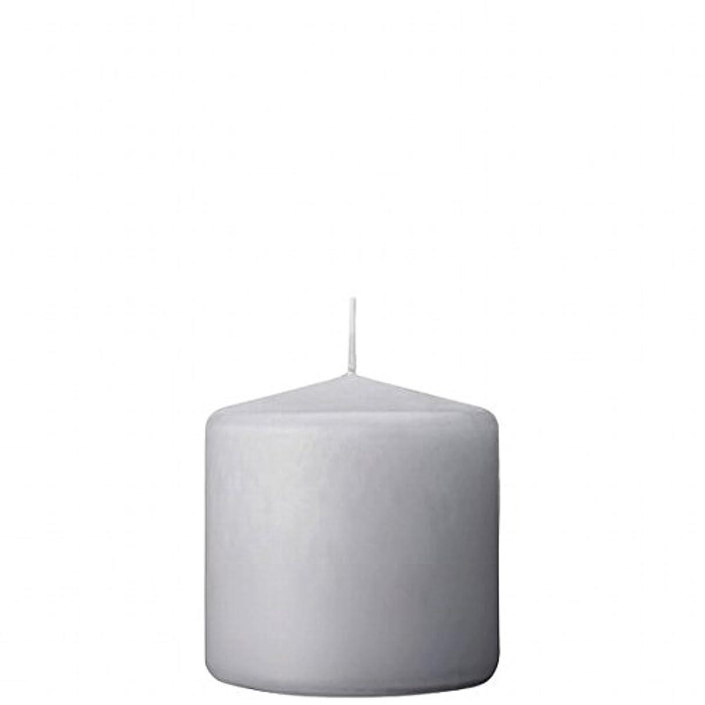 怒っている懺悔スタックカメヤマキャンドル(kameyama candle) 3×3ベルトップピラーキャンドル 「 ライトグレー 」