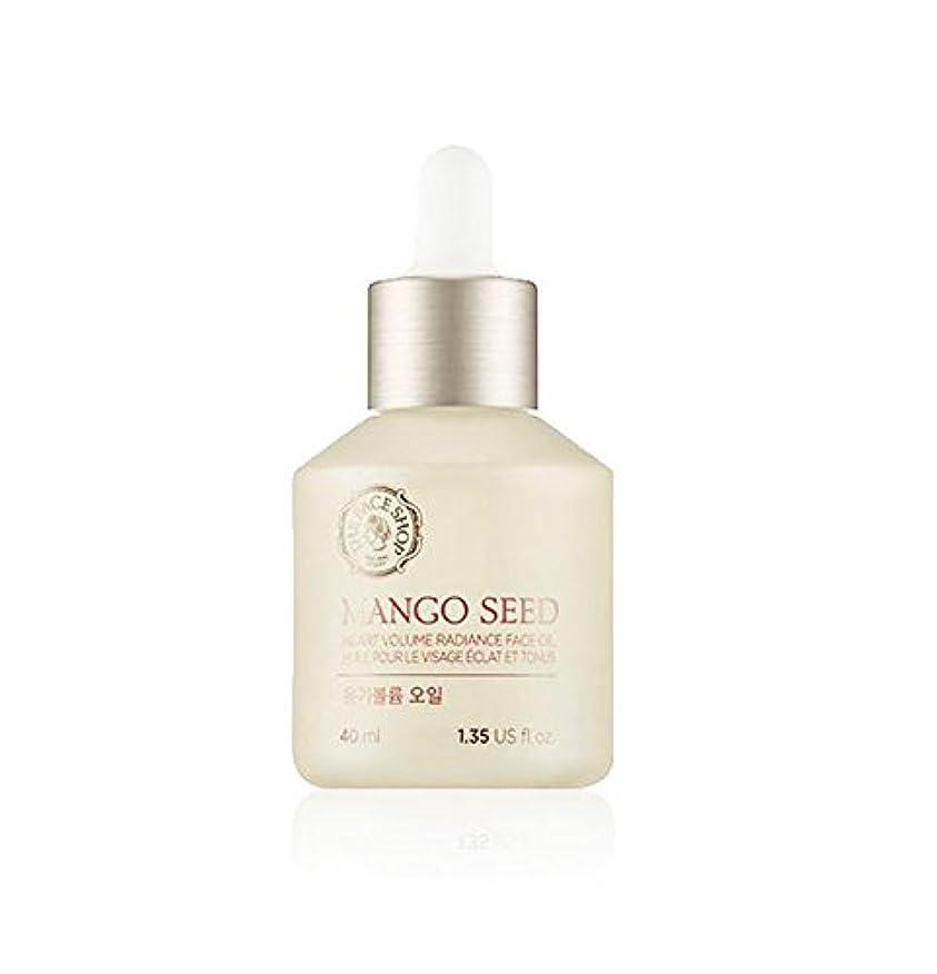 [ザフェイスショップ] THE FACE SHOP マンゴシード艶ボリュームオイル(40ml) The Face Shop Mango Seed Heart Volume Radiance Face Oil(40ml)...