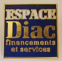 ルノー ESPACE DIAC ピンバッジ r61202