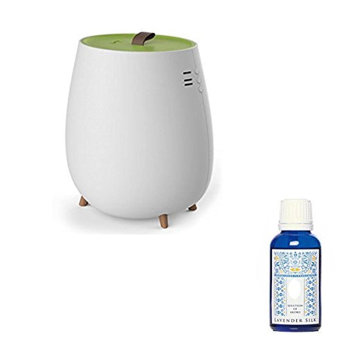 アンプ満足させる国民アロマ加湿器 超音波加湿器 2.3L セラヴィ アロマソリューション付 CLV-296 グリーン
