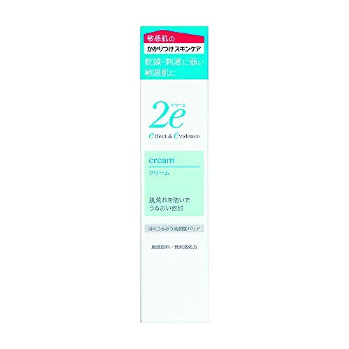 負離れた年金受給者2e(ドゥーエ) クリーム 敏感肌用クリーム 低刺激処方 深くうるおう高潤度バリア 30g