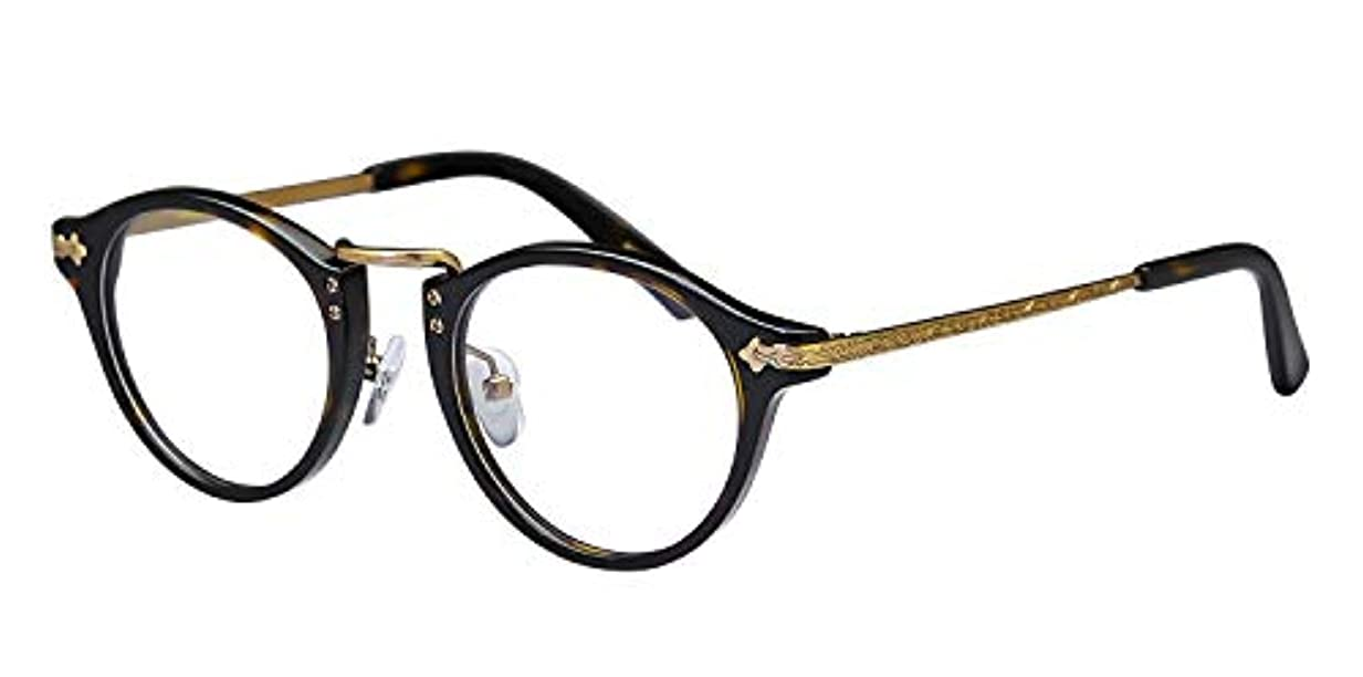 鯖江ワークス(SABAE WORKS) 遠近両用メガネ 老眼鏡 ボストン RN1031C3 +2.50