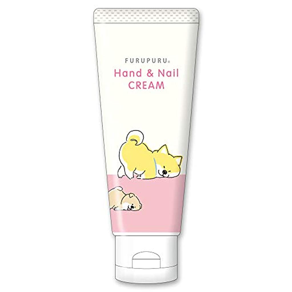 盆ペンス貪欲フルプルハンド&ネイルクリーム しばんばん フルーティーフローラルの香り 50g