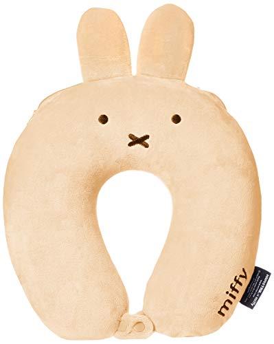 [ハピタス] 低反発枕 ミッフィー 31 cm オヤスミッフィー ベージュ