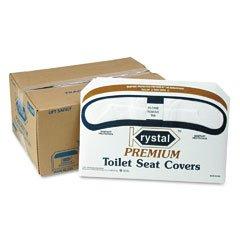 Premium Half-Fold Toilet Seat Covers, 250 Covers/Box, 10 Boxes/Carton (並行輸入品)