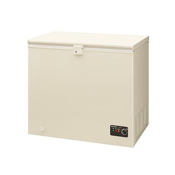 シャープ 直冷式 室外設置対応冷凍ストッカー 2...の商品画像