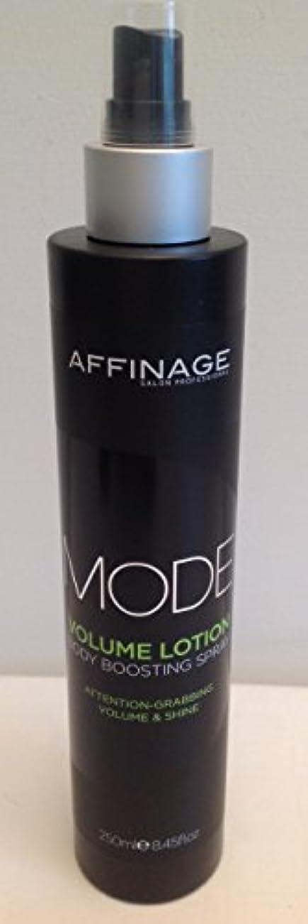 コンパニオン劇作家アルカトラズ島Mode Styling by Affinage Volume Lotion 250ml