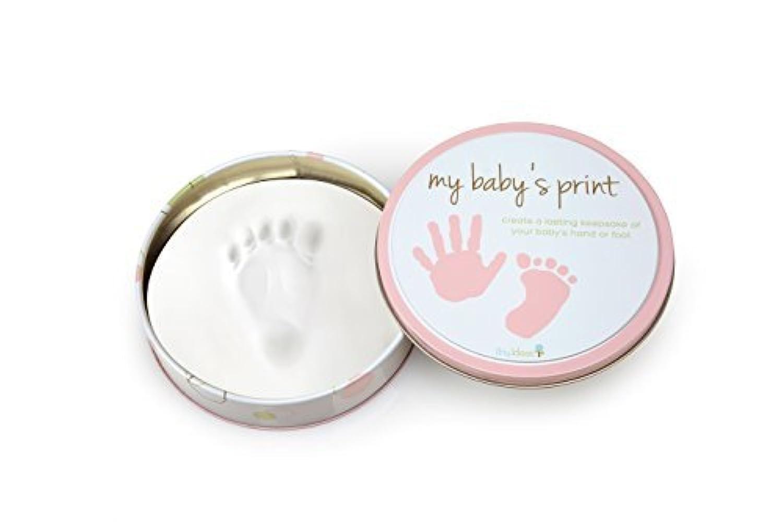 Tiny Ideas Easy to Use Handprint Tin Makers, Pink by Tiny Ideas [並行輸入品]