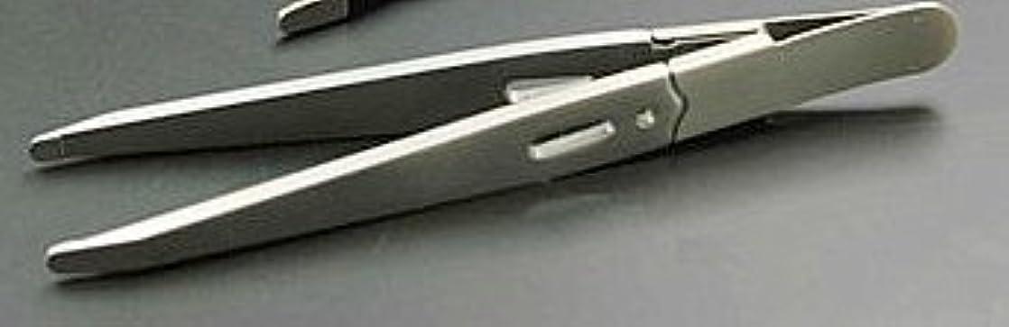 エレクトロニックキャプテンブライ乳製品驚きの毛抜き 先丸タイプ(GT-221) (銀)