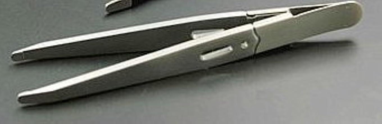 ハングフレットいいね驚きの毛抜き 先丸タイプ(GT-221) (銀)