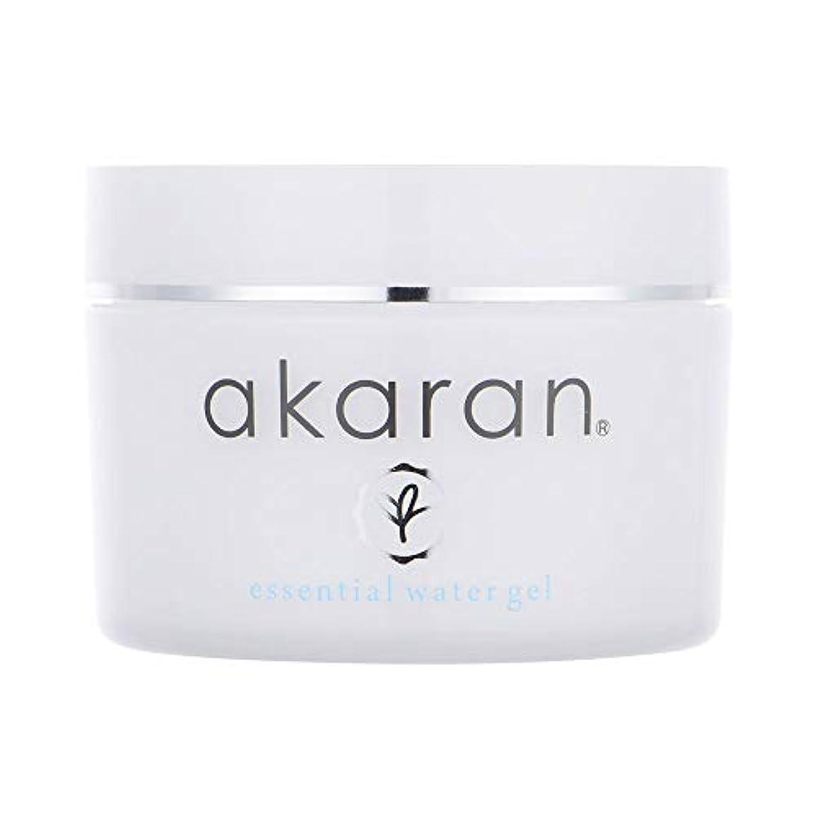アカラン エッセンシャルウォータージェル 120g オイルフリー 美容成分 無添加 高保湿オールインワン 敏感肌 乾燥肌
