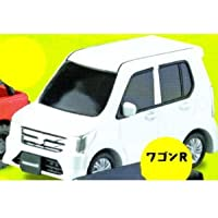 カプセルQミュージアム スズキデフォルメ軽自動車 [5.ワゴンR 白 (MH34S/44S型)2012年型(スペリアホワイト)](単品)