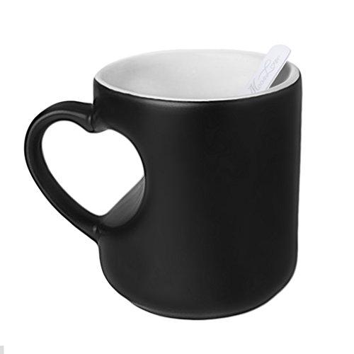【オーダーメイド】オリジナルマグカップ お洒落 写真入れ 個性 画像印刷 色変わり マジックコップ 可愛い 世界一つしかないコップ ティーカップ ユニークプレゼント スプーン付属 301-400ml コーヒーカップ 陶器製 ギフト、贈り物に最適!A型