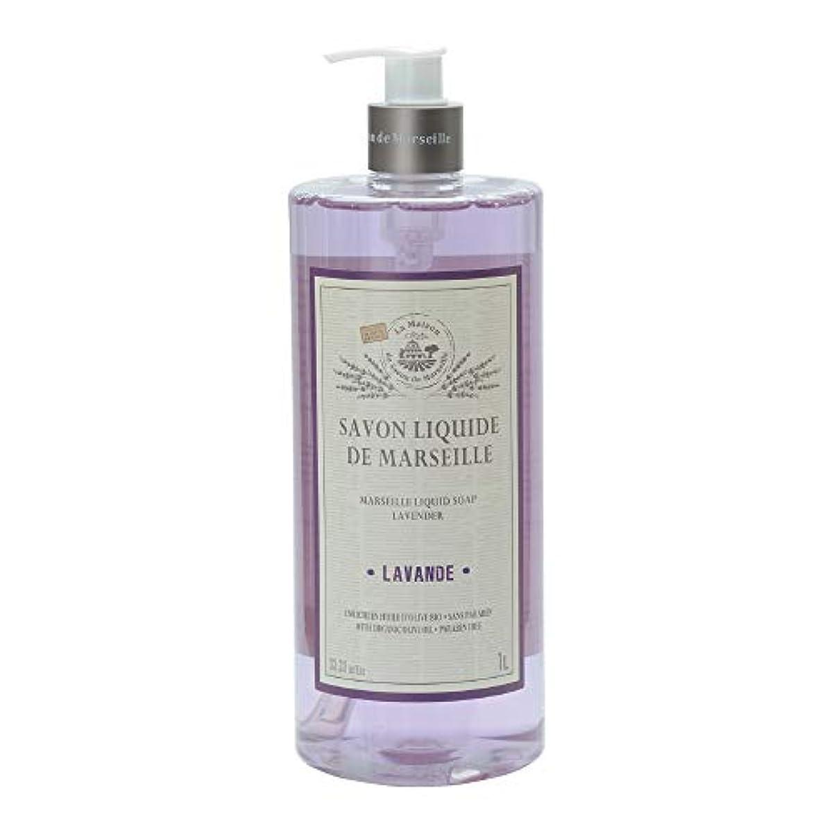 独特のに変わる協会ノルコーポレーション マルセイユ石鹸 リキッドソープ 1L ラベンダーの香り MLL-2-2