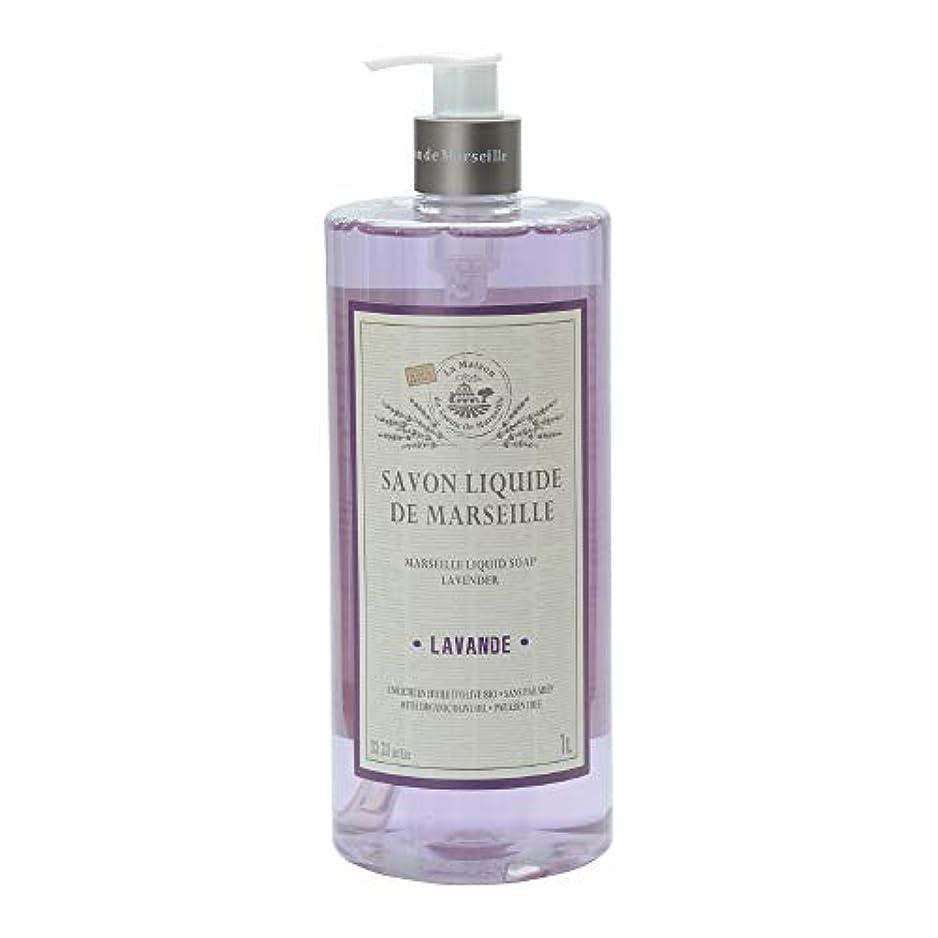 どうしたの一生熟練したノルコーポレーション マルセイユ石鹸 リキッドソープ 1L ラベンダーの香り MLL-2-2