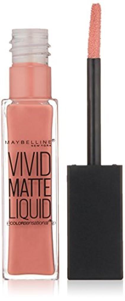 検索砂利ペストリーMAYBELLINE Vivid Matte Liquid Nude Flush (並行輸入品)